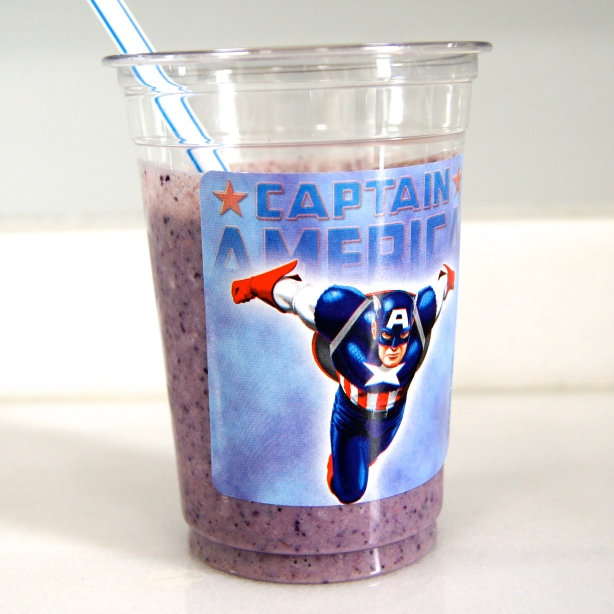 Superhero Smoothie_Captain America